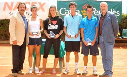 Finalistes del Campionat de Catalunya Sub-15.