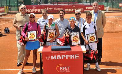 Finalistes del Campionat d'Espanya Aleví 2011.