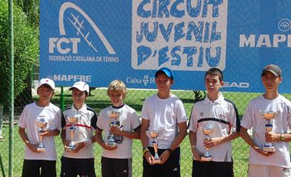 Finalistes del Circuit Juvenil d'Estiu 2011.