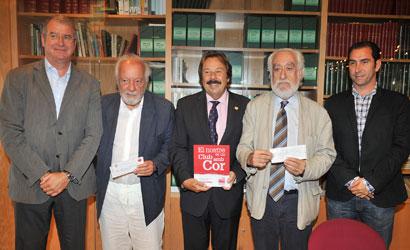 Albert Agustí, Josep Ferrer Peris, Francesc Orriols, Josep Maldonado i Albert Costa.