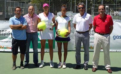Garbiñe Muguruza, campiona de l'ITF Women's de Cáceres 2011.