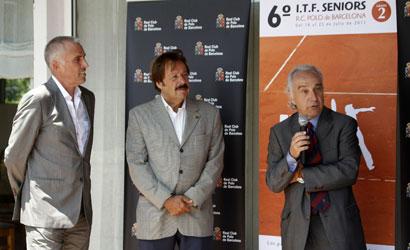 Presentació del VI Torneig ITF Sèniors del RC de Polo.