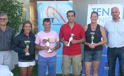 Finalistes +35 del I Open Sènior Coma-ruga.