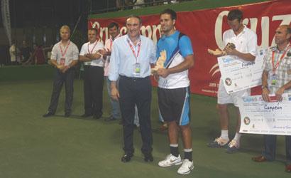 Arnau Brugués campió de l'ITF Futures de Palma del Rio 2011.