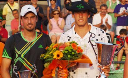 Pablo Carreño, campió a l'ITF Futures d'Irun 2011.