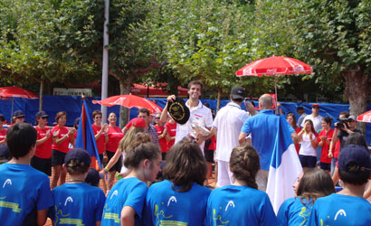 Albert Ramos campió al Challenger de San Sebastián