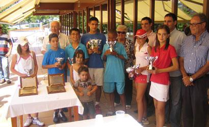 campions Circuit Juvenil d'Estiu FCT 2011 a Castelldefels
