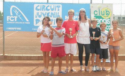 Protagonistes del Circuit Juvenil d'Estiu FCT 2011