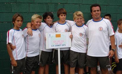 CT Canet, campió del quadre de consolació del CE Aleví 2011.
