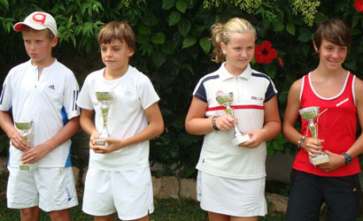 Finalistes del Circuit Juvenil d'Estiu de la FCT 2011.