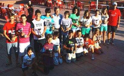 Circuit Juvenil d'Estiu al CT Urgell. Finalistes.