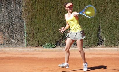 Inés Ferrer, finalista a l'ITF Women's de Mamaia (Romania)