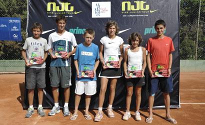 Finalistes del Máster del NIKE Junior Tour 2011.