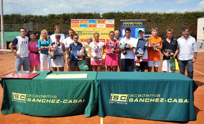 Finalistes de la Sánchez-Casal Youth Cup 2011.