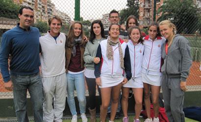 Equip Cadet Femení del RCT Barcelona-1899, Campió de Catalunya 2011.