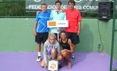 Representants catalans al Capionat d'espanya Infantil per Automíes.