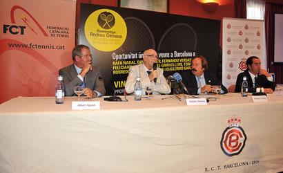 Presentació oficial de l'Homenatge Andreu Gimeno.