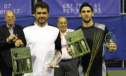 Ivan Navarro, campió i Adrian Menendez, finalista de l'ITF de Còrdova 2011.