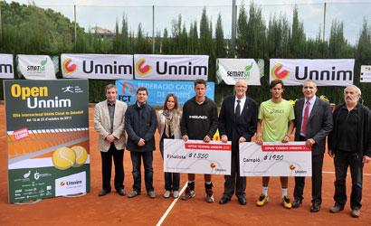 Finalistes de l'ITF Futures XIX Open Unnim - Ciutat de Sabadell.