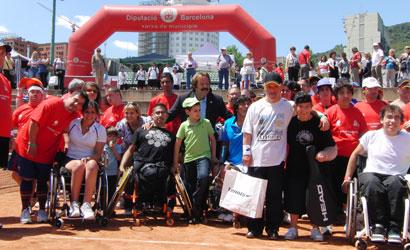 El tennis, eina d'integració de col·lectius amb discapacitats.