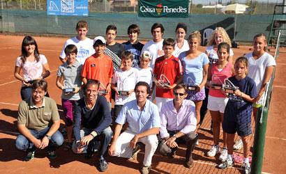 Finalistes del Màster del Circuit Juvenil d'Estiu al CT Lleida.