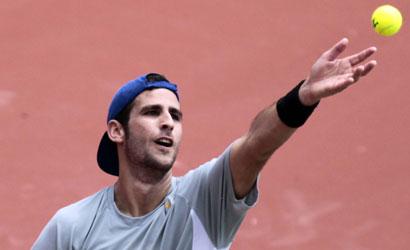 Adrian Menéndez, finalista de l'ITF de Rodez (França)