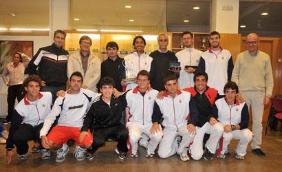 El RCT Barcelona-1899, campió de Catalunya per Equips Absoluts Masculins 2011