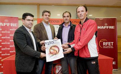 El CT Tarragona, escenari del Campionat d'Espanya per Equips Masculins 2011.
