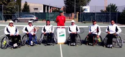 El tennis amb cadira de rodes, al II Màsters Provincial Wala