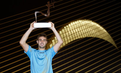 Marcel Granollers, campió del Valencia Open 500 2011.