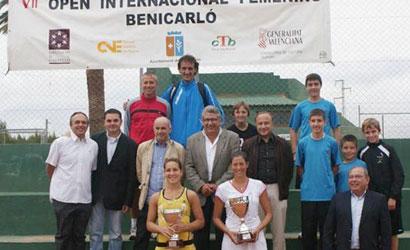 Garbiñe Muguruza, campiona de l'ITF Women's de Benicarló 2011.