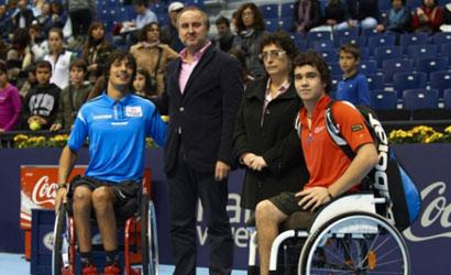 """Quico Tur, Campió del """"Master Nacional de Silla de Ruedas"""" Valencia 2011"""