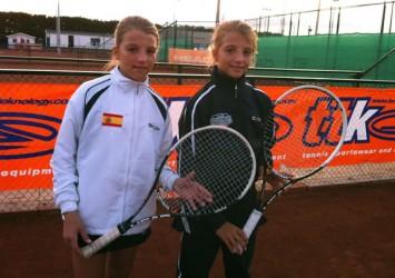 Ares i Aran Teixidó, a prop de les semifinals del Màster Europeu TTK