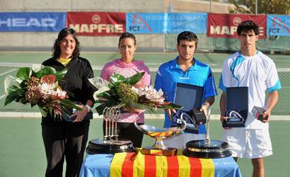 Roig, Pous, Roca i Poch, finalistes del Campionat de Catalunya 2011