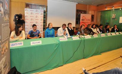 """Presentació del projecte de tennis femení """"Elitia"""""""