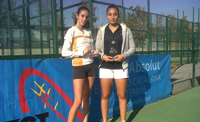 Josephine Boualem, campiona i Claudia Herrero, finalista del Màster Circuit Absolut FCT 2011