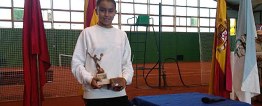 Julia Payola, campiona del Máster Nacional Infantil 2011.