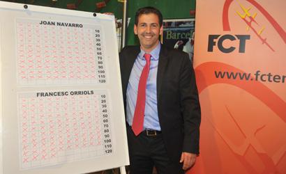 Joan Navarro, guanyador de les eleccions a la Prsidència de la FCT.