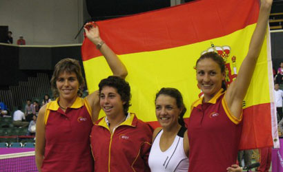 Equip espanyol de Fed Cup.