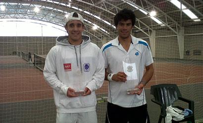 Marc Lluis Vargas, campió i Eric Garcia, finalista.