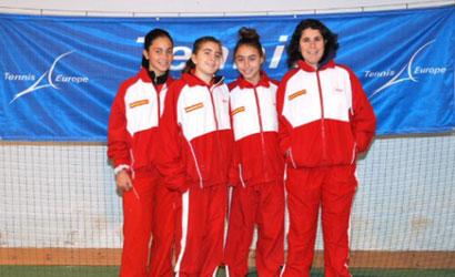 Selecció femenina espanyola Sub-14.