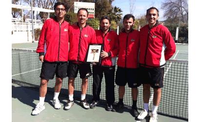 Nacho Escudero, Marc Mas, Alex López, David González i David Valeriano