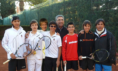 El CT de La Salut, campió de Catalunya Infantil Masculí 2012.