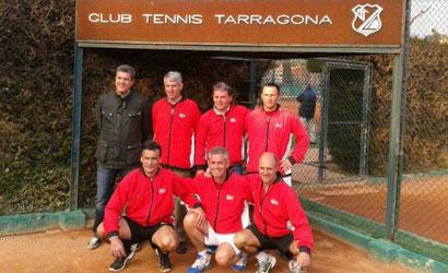Equip del CT Tarragona, Campió de Catalunya +45  2012