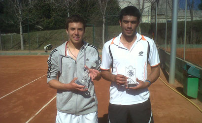 Adrià Mas, campió i Marc Lluis Vargas, finalista del XLIV Trofeu Egara