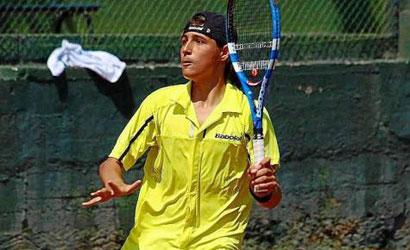 David Català, finalista de la prova infantil del Nike Junior Tour de Valencia.