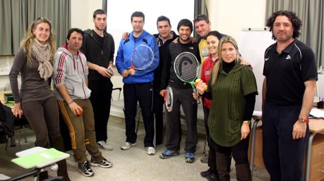 Torna a les escoles de Lleida el programa 'I ara... tennis'
