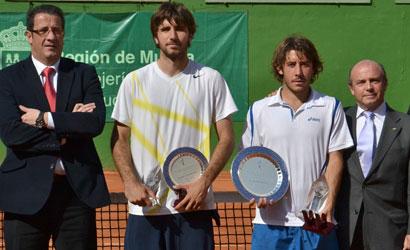 Jordi Samper, a l'esquerra i Florian Reynet, a la dreta.