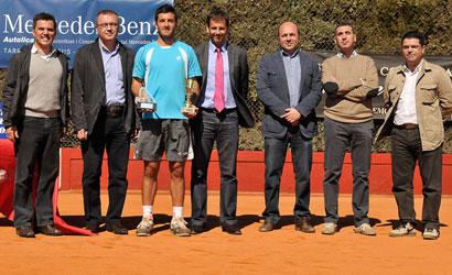 Enrico Buzi, campió de l'ITF Autolica Mercedes Benz al Reus Monterols