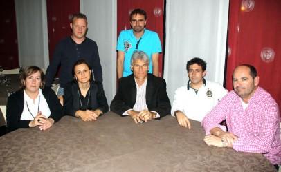 Reunió de la junta de la Representació Territorial a Lleida de la Federació